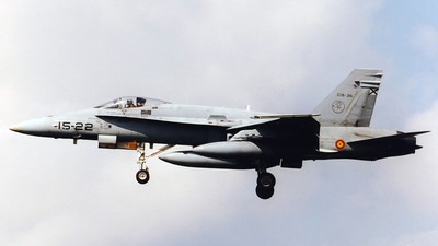 C.15-35 - McDonnell Douglas EF-18A+ Hornet - Spain - Air Force