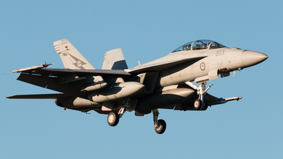 A44-203 - Boeing F/A-18F Super Hornet - Australia - Royal Australian Air Force (RAAF)