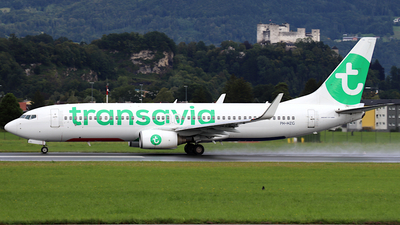 A picture of PHHZG - Boeing 7378K2 - Transavia - © ms spot