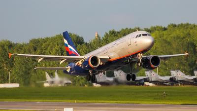 VP-BID - Airbus A320-214 - Aeroflot