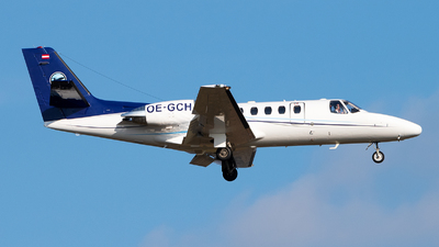 OE-GCH - Cessna 550B Citation Bravo - Private