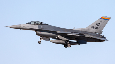 87-0299 - General Dynamics F-16C Fighting Falcon - United States - US Air Force (USAF)