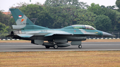 TS-1624 - General Dynamics F-16D Fighting Falcon - Indonesia - Air Force
