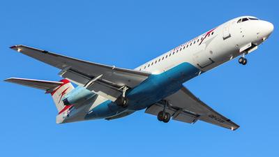 OE-LVB - Fokker 100 - Austrian Airlines