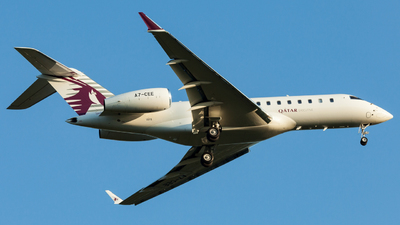 A7-CEE - Bombardier BD-700-1A11 Global 5000 - Qatar Executive