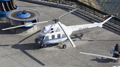 SP-SAN - PZL-Swidnik Mi-2 Hoplite - Private