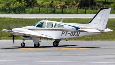 PT-OKU - Beechcraft 95-B55 Baron - Private
