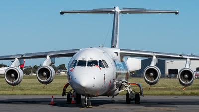 VH-NJM - British Aerospace BAe 146-300(QT) - Cobham Aviation Services Australia