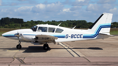 G-BCCE - Piper PA-23-250 Aztec E - Private