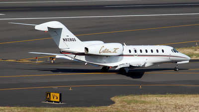 N928QS - Cessna 750 Citation X - NetJets Aviation