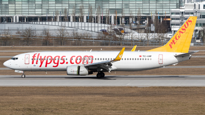 A picture of TCANP - Boeing 73782R - Pegasus Airlines - © Thomas Ernst