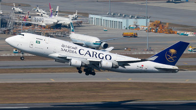TC-ACG - Boeing 747-481(BDSF) - Saudi Arabian Airlines Cargo (MyCargo)