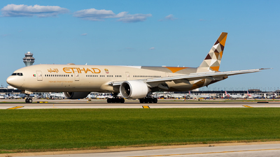 A6-ETG - Boeing 777-3FXER - Etihad Airways