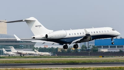 N878SC - Bombardier BD-700-1A10 Global 6000 - Private