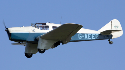A picture of GAEEG - Miles M3A Falcon - [216] - © Terry Wade