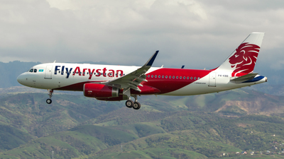 P4-KBB - Airbus A320-232 - FlyArystan