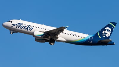 A picture of N845VA - Airbus A320214 - Alaska Airlines - © Brandon Giacomin