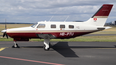 HB-PTU - Piper PA-46-350P Malibu Mirage - Private