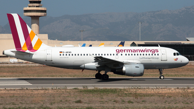 D-AKNG - Airbus A319-112 - Germanwings