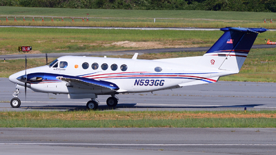 A picture of N593GG - Beech 200 Super King Air -  - © Agustin Anaya