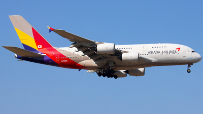 A picture of HL7625 - Airbus A380841 - Asiana Airlines - © YoungKyun Shin
