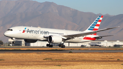 A picture of N804AN - Boeing 7878 Dreamliner - American Airlines - © Claudio Pérez