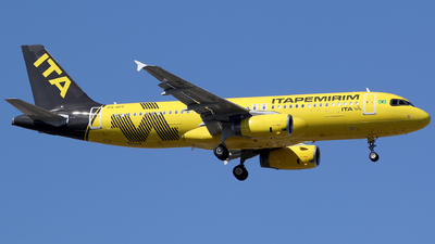 A picture of PSSFC - Airbus A320232 - Itapemirim Transportes Aéreos - © TLBorges
