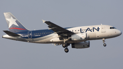 A picture of CCCPM - Airbus A319132 - LATAM Airlines - © Aldo Martinelli