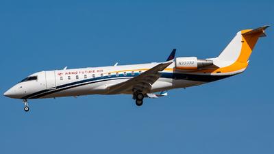 N3333Q - Bombardier CL-600-2B19 Challenger 850 - Future Air