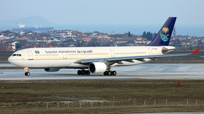 TC-OCA - Airbus A330-321 - Saudi Arabian Airlines (Onur Air)