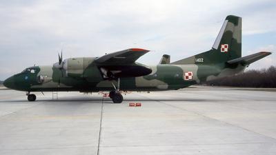 1402 - Antonov An-26B - Poland - Air Force