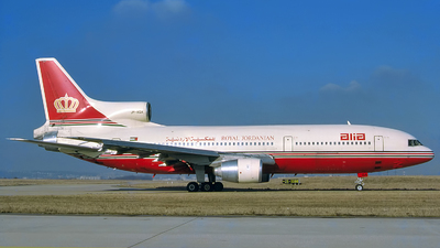 JY-AGA - Lockheed L-1011-500 Tristar - Alia - The Royal Jordanian Airline