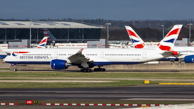 G-XWBE - Airbus A350-1041 - British Airways