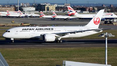A picture of JA841J - Boeing 7878 Dreamliner - Japan Airlines - © George Lau - AHKGAP
