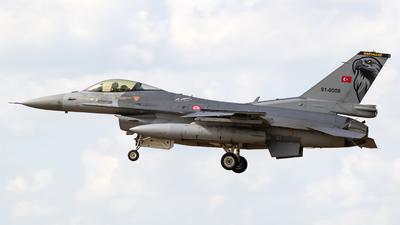 91-0008 - Lockheed Martin F-16C Fighting Falcon - Turkey - Air Force