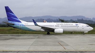 A picture of PKGEP - Boeing 7378AS - Garuda Indonesia - © Yanuar Dwi Nugroho