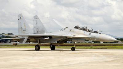 M52-18 - Sukhoi Su-30MKM - Malaysia - Air Force