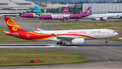 F-WWCY - Airbus A330-343 - Hong Kong Airlines