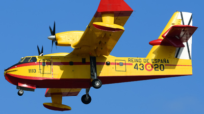 UD.13-20 - Canadair CL-215T - Spain - Air Force
