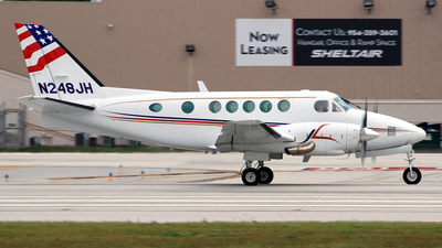 N248JH - Beechcraft 100 King Air - Private