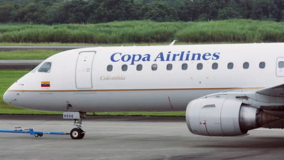 HK-4506 - Embraer 190-100LR - Copa Airlines Colombia