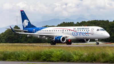 A picture of XAFAC - Embraer E190LR - Aeromexico Connect - © Pablo Velasquez Lopez