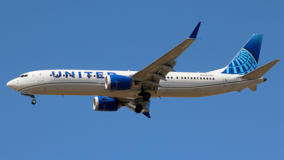 N17529 - Boeing 737-9 MAX - United Airlines
