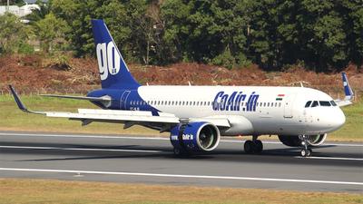 VT-WJB - Airbus A320-271N - Go Air