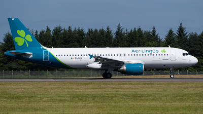 A picture of EIDVK - Airbus A320214 - Aer Lingus - © Ian McGregor