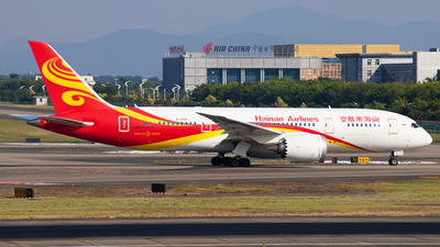 A picture of B2739 - Boeing 7878 Dreamliner - Hainan Airlines - © TANG MIN XIN