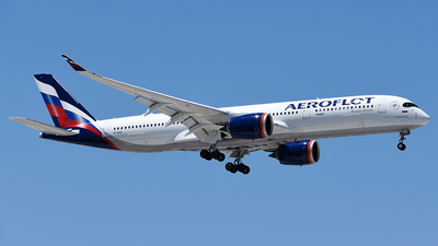 VP-BXA - Airbus A350-941 - Aeroflot