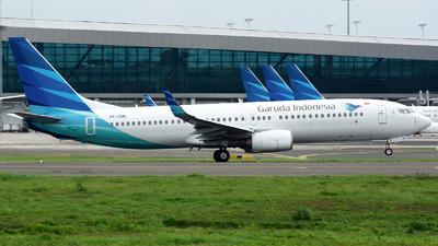 A picture of PKGMU - Boeing 7378U3 - Garuda Indonesia - © Ridho Maulana