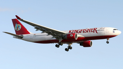 VT-VJL - Airbus A330-223 - Kingfisher Airlines