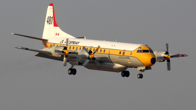 C-FLXT - Lockheed L-188C Electra - Air Spray
